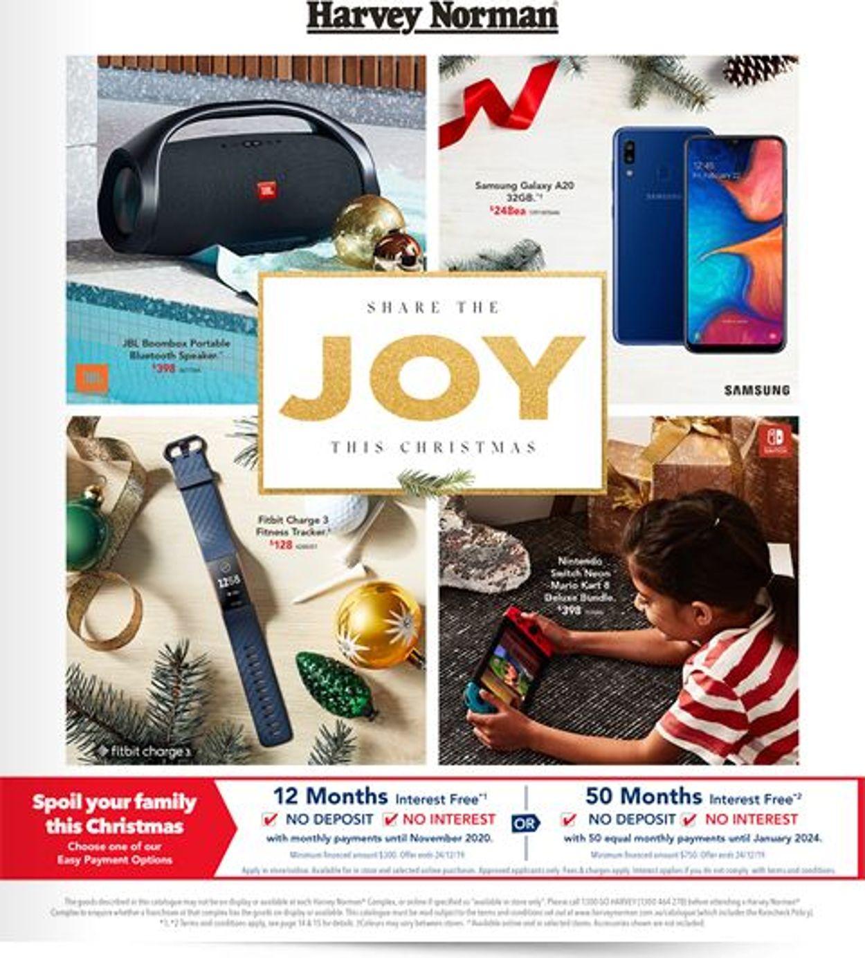 Harvey Norman Christmas Catalogue 2019 Catalogue - 06/12-24/12/2019