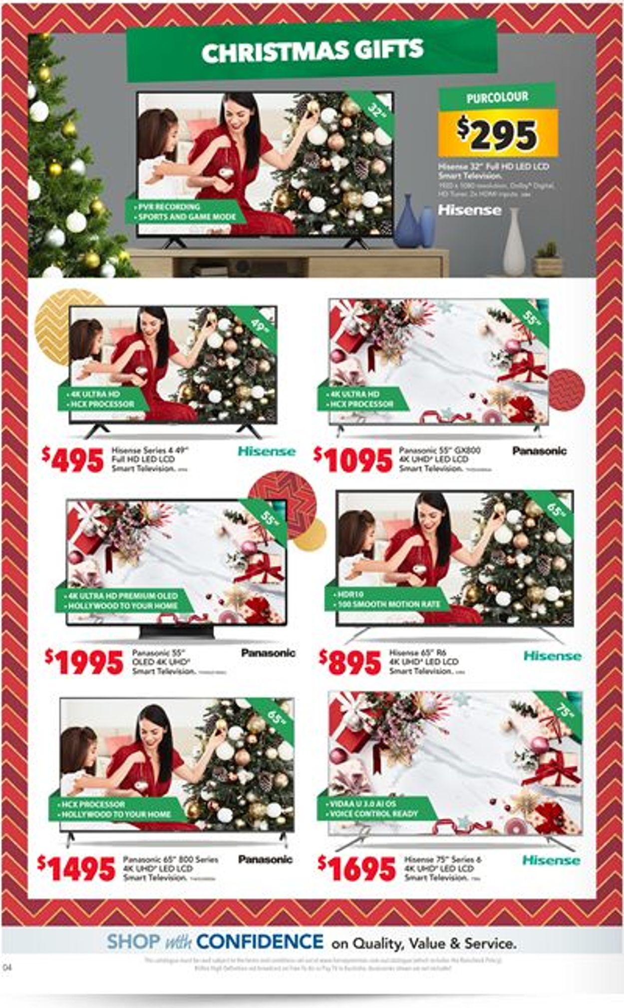 Harvey Norman Christmas Catalogue 2019 Catalogue - 06/12-24/12/2019 (Page 4)