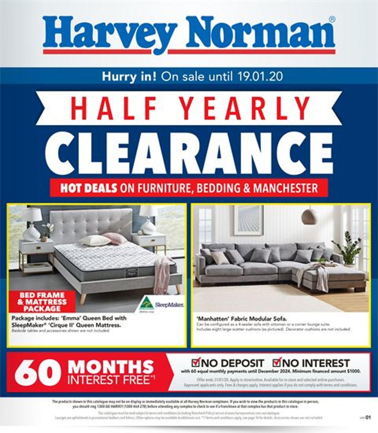 Harvey Norman Catalogue - 27/12-19/01/2020