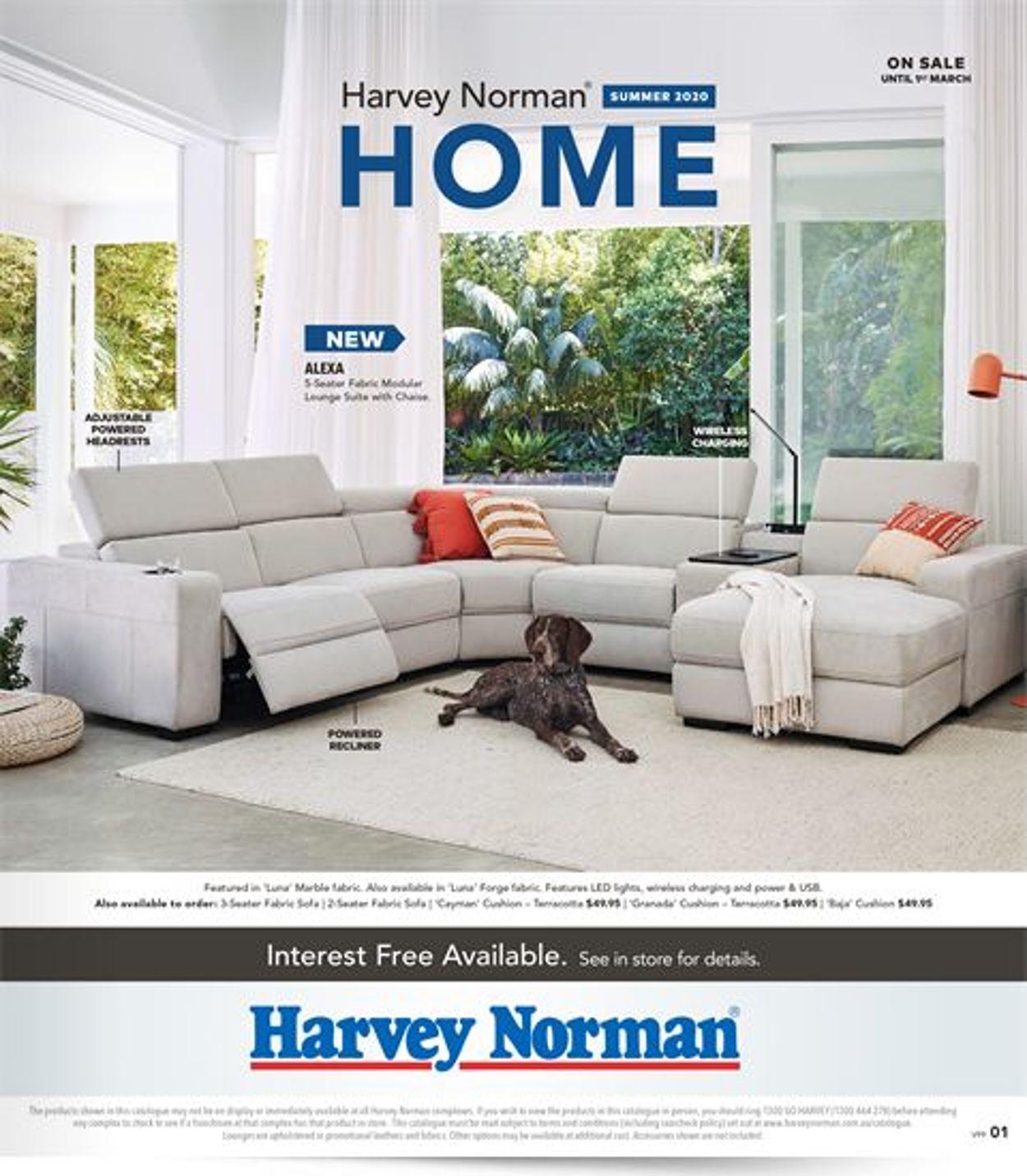 Harvey Norman Catalogue - 07/02-01/03/2020