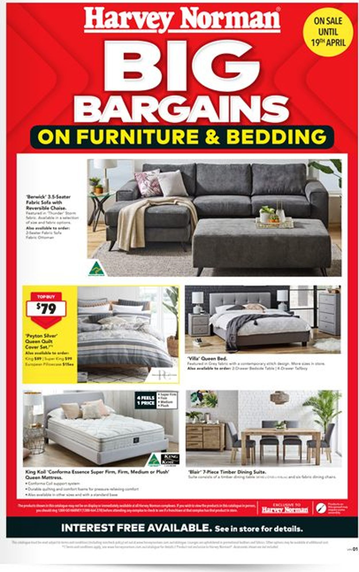 Harvey Norman Catalogue - 27/03-19/04/2020