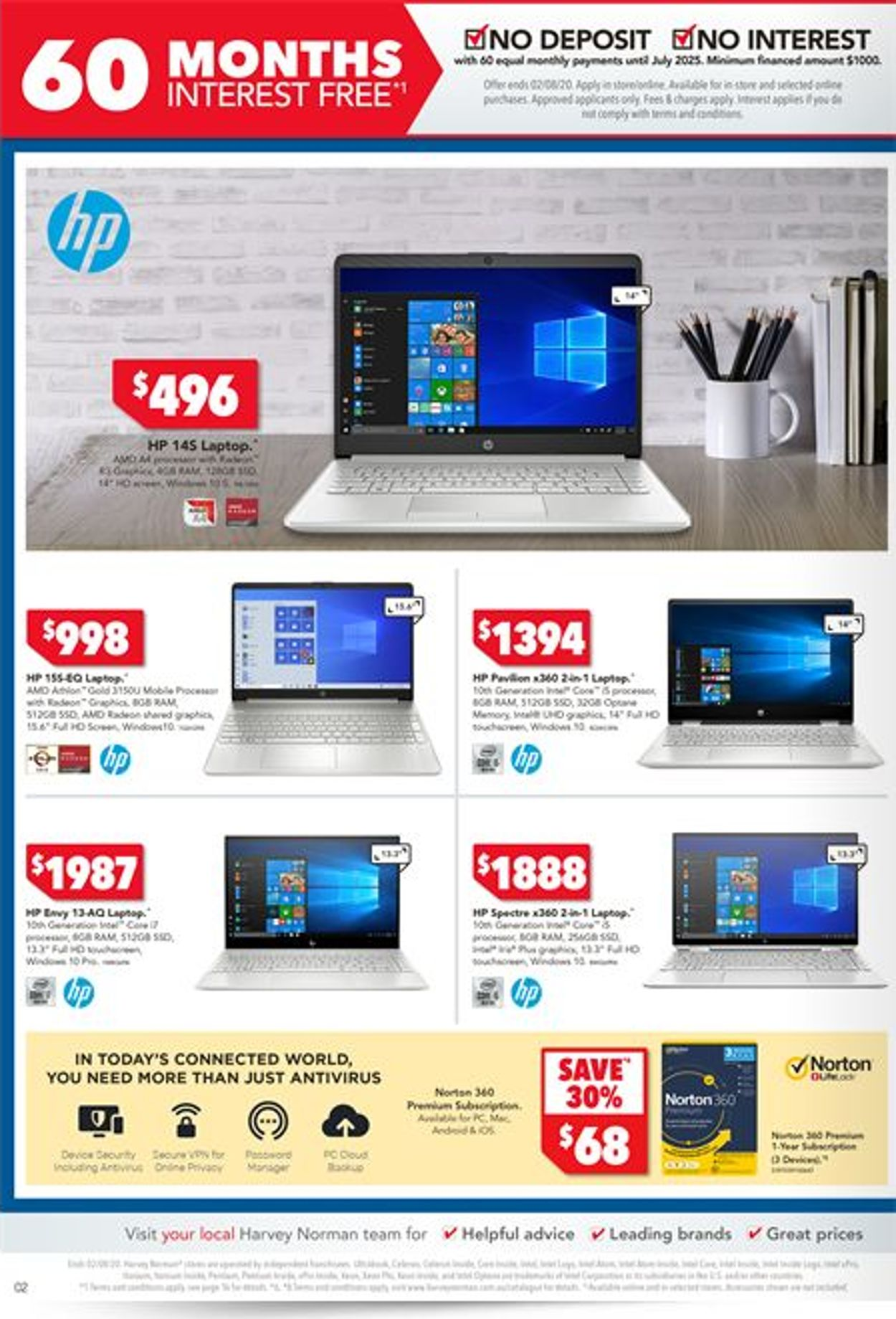 Harvey Norman Catalogue - 24/07-02/08/2020 (Page 2)
