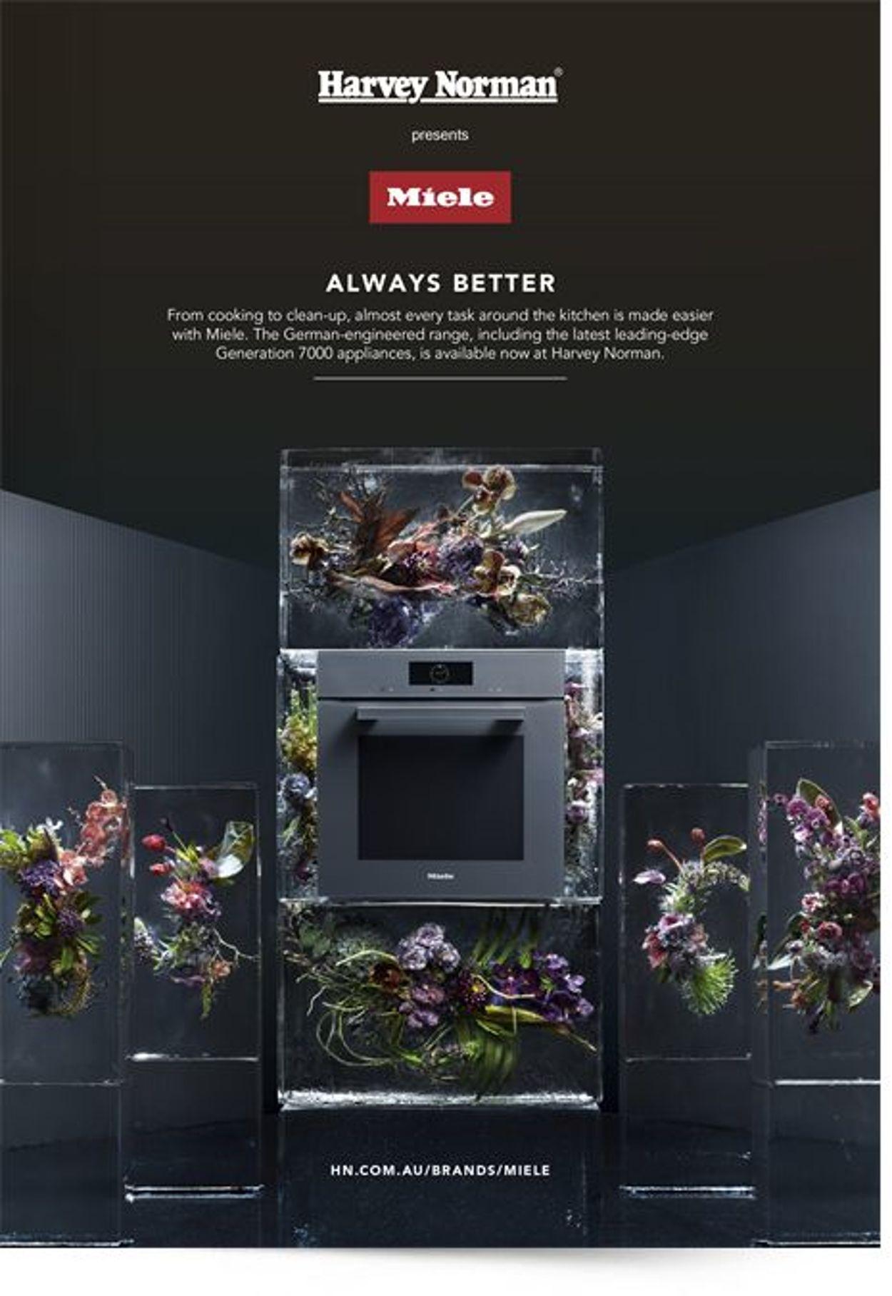 Harvey Norman - Miele Booklet Catalogue - 14/01-30/06/2021