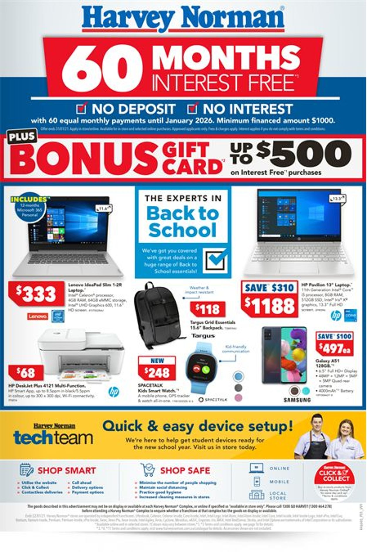 Harvey Norman Catalogue - 17/01-22/01/2021