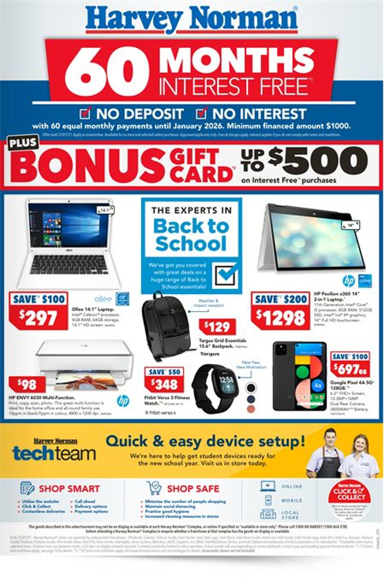 Harvey Norman Catalogue - 22/01-25/01/2021