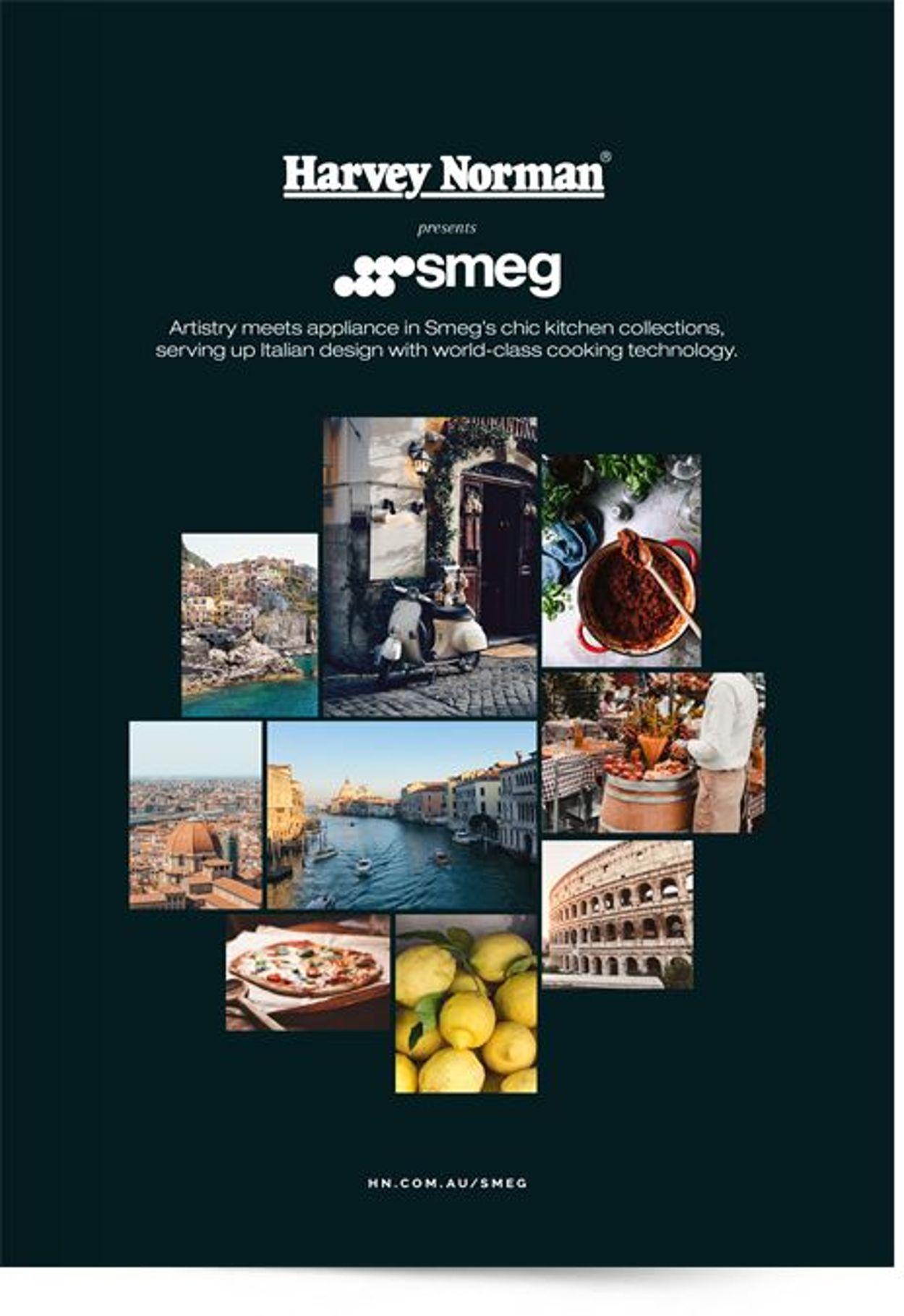 Harvey Norman Smeg Booklet Catalogue - 16/02-30/06/2021