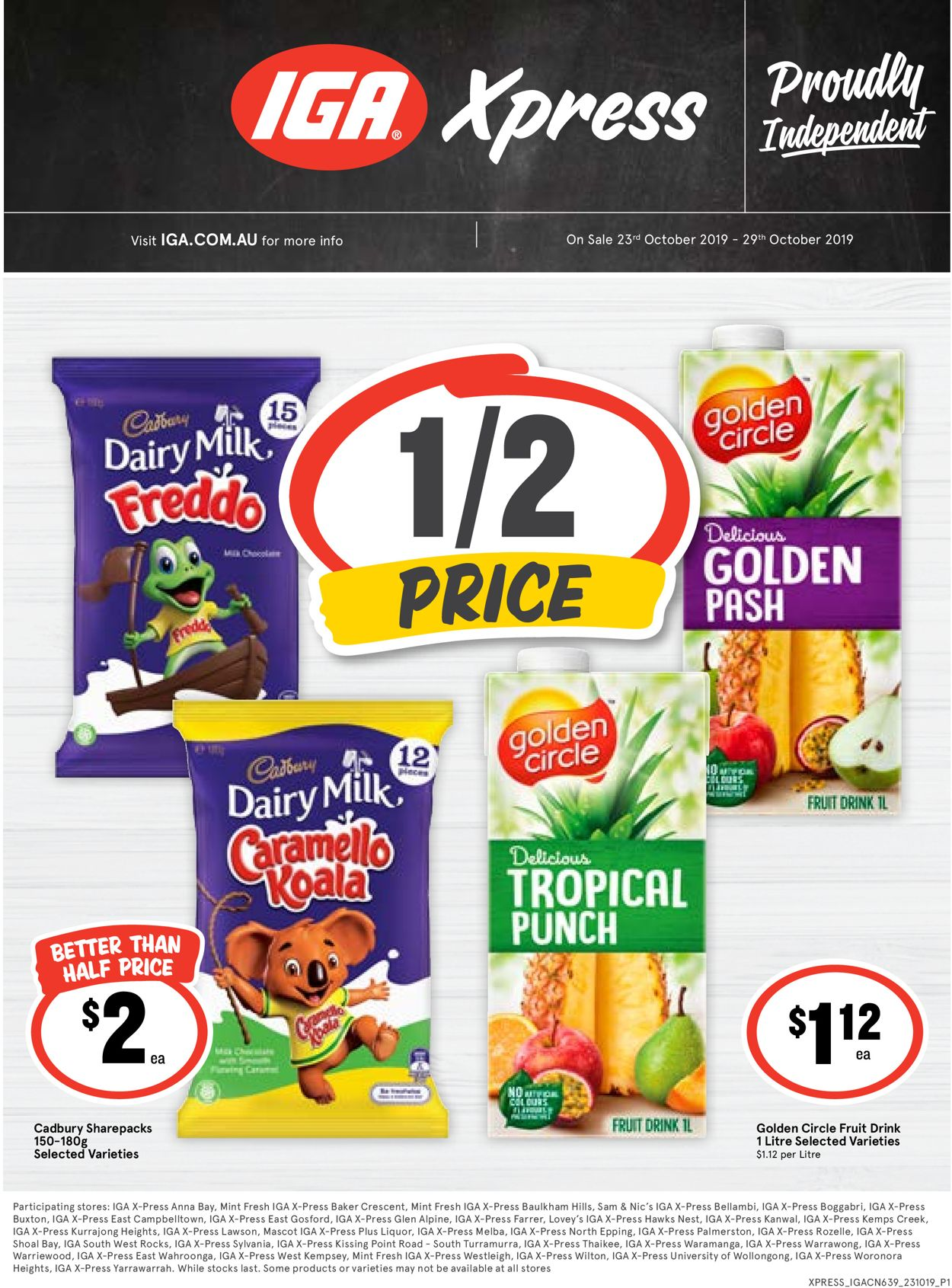 IGA Catalogue - 23/10-29/10/2019