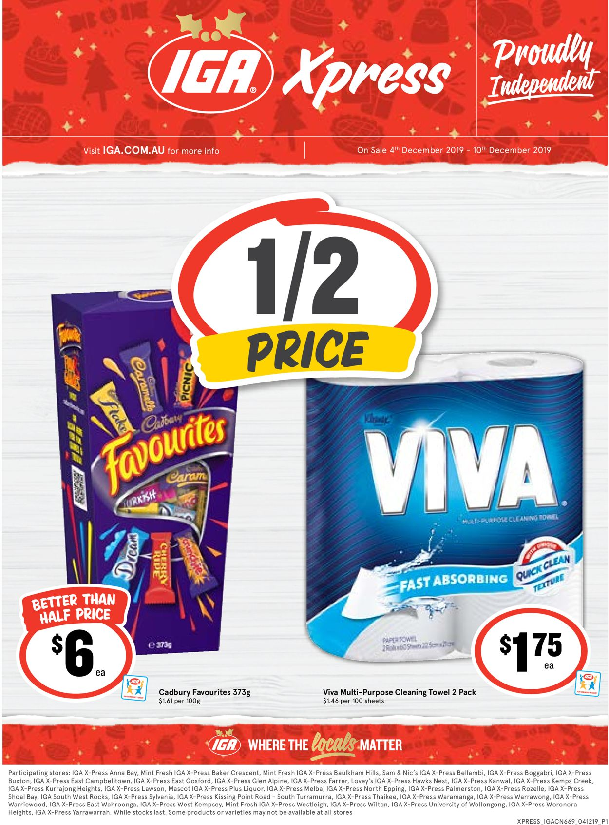 IGA Catalogue - 04/12-10/12/2019