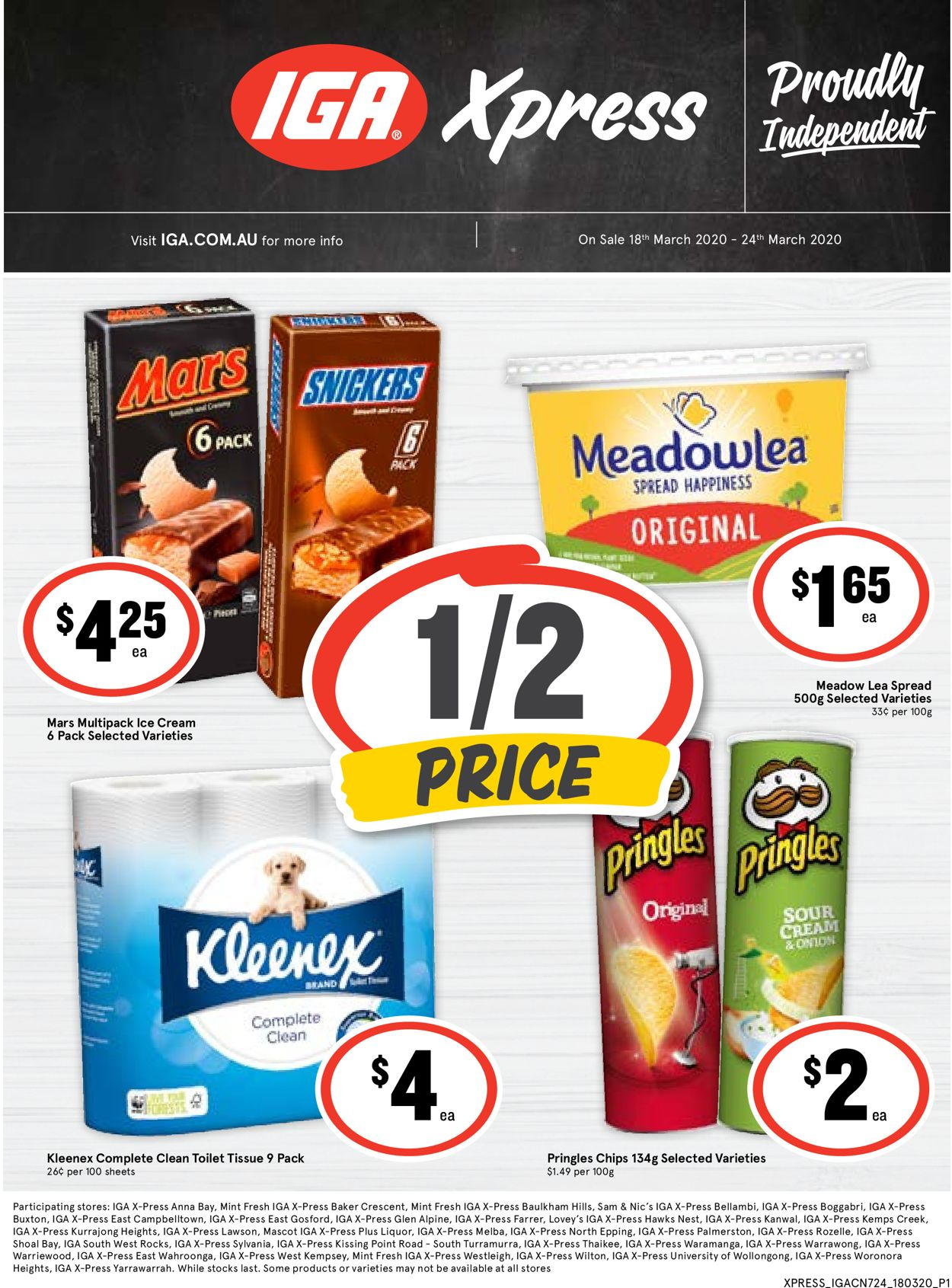IGA Catalogue - 18/03-24/03/2020