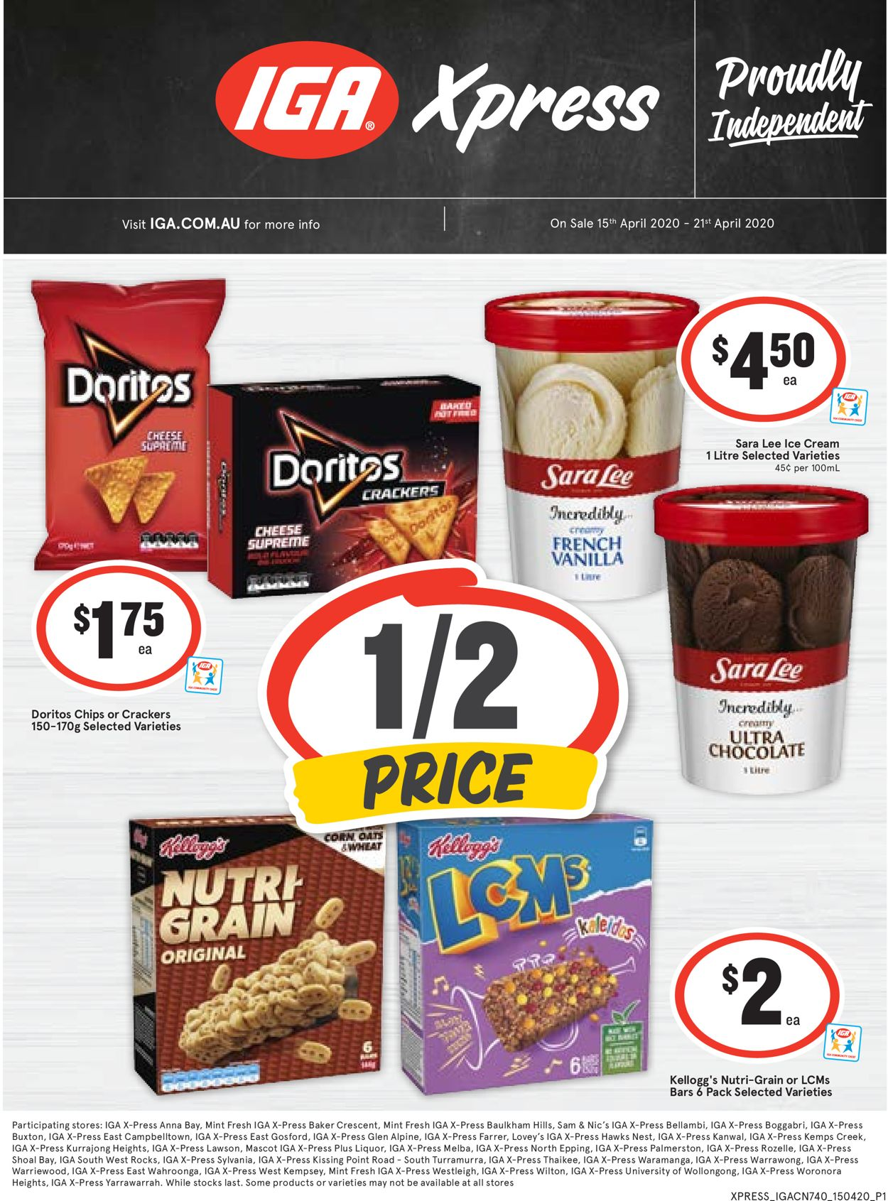 IGA Catalogue - 15/04-21/04/2020