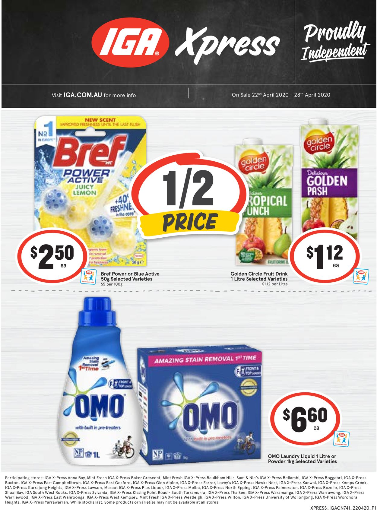 IGA Catalogue - 22/04-28/04/2020