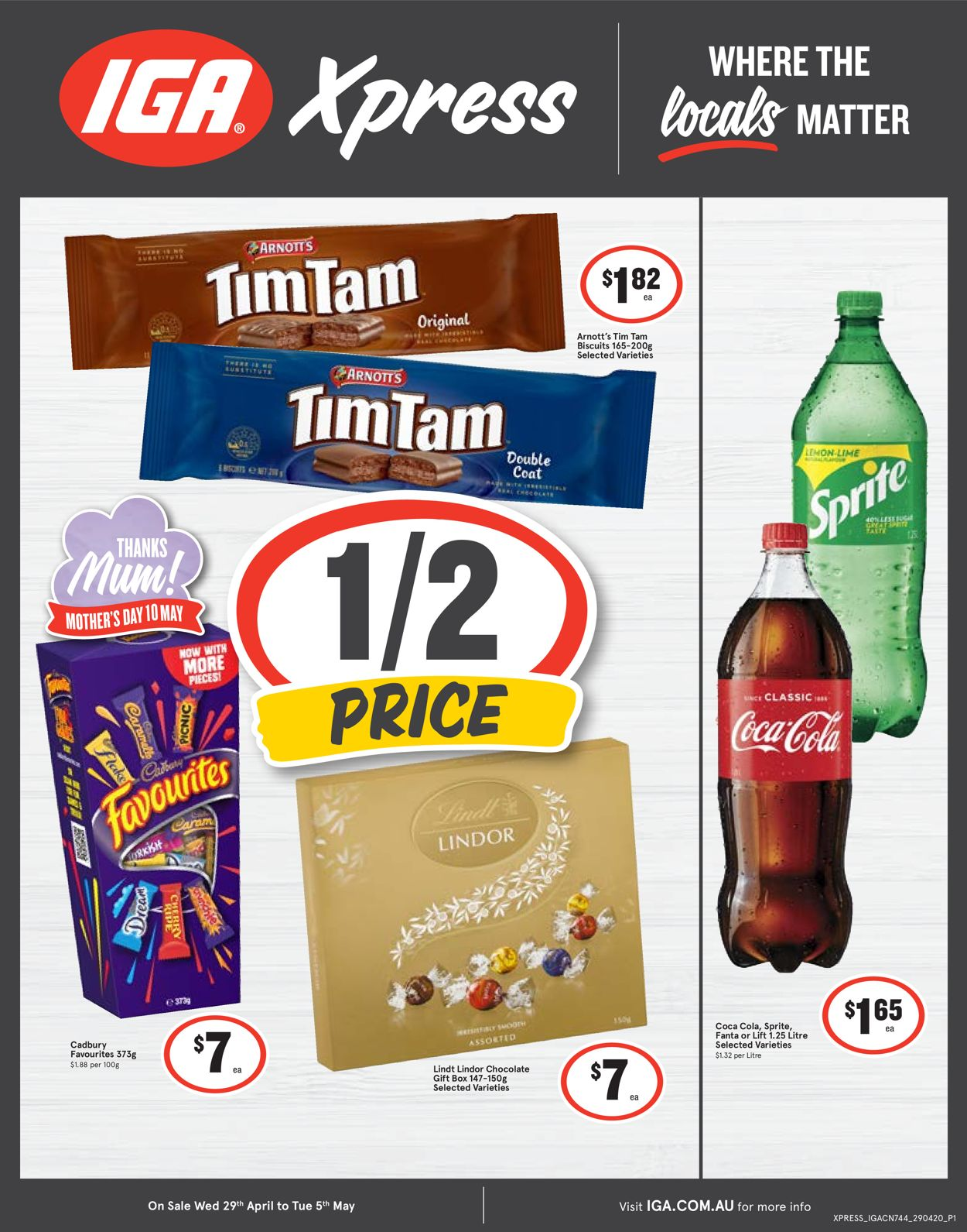 IGA Catalogue - 29/04-05/05/2020
