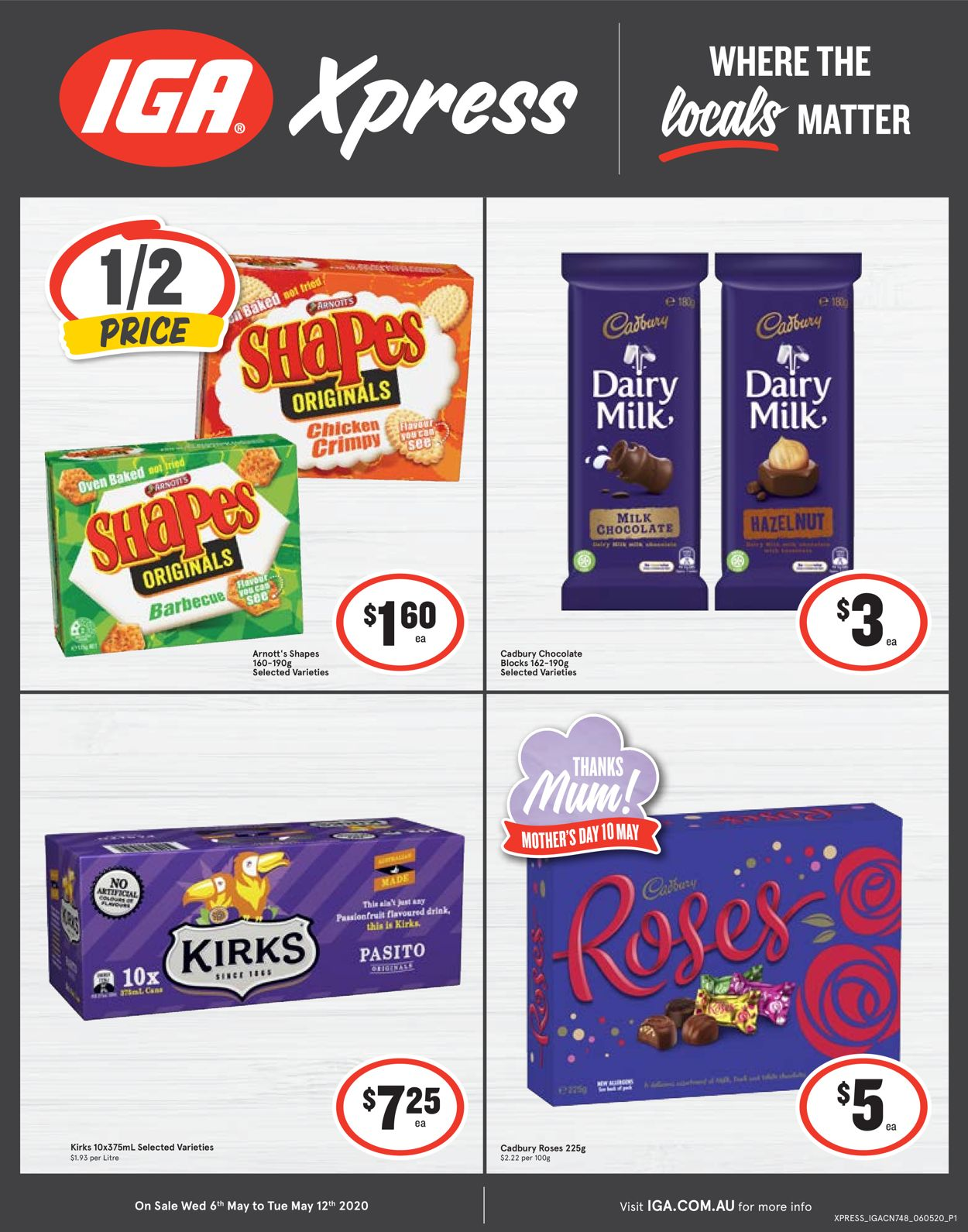 IGA Catalogue - 06/05-12/05/2020