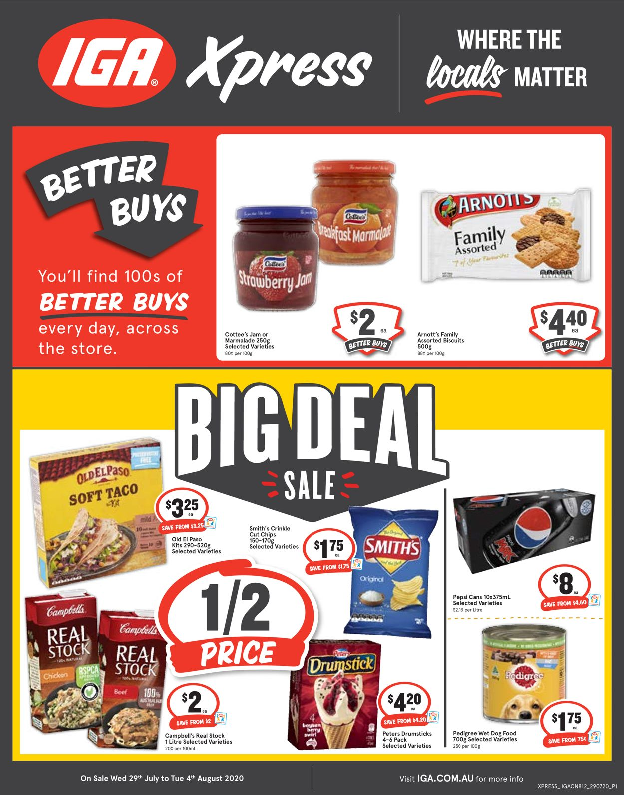 IGA Catalogue - 29/07-04/08/2020