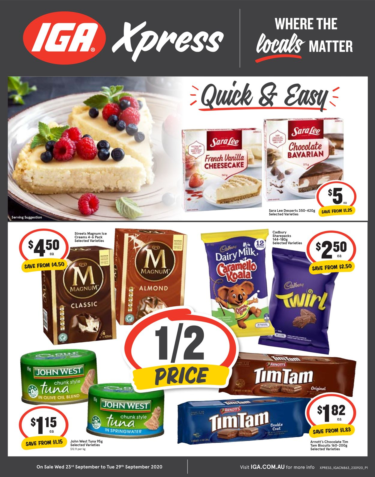 IGA Catalogue - 23/09-29/09/2020