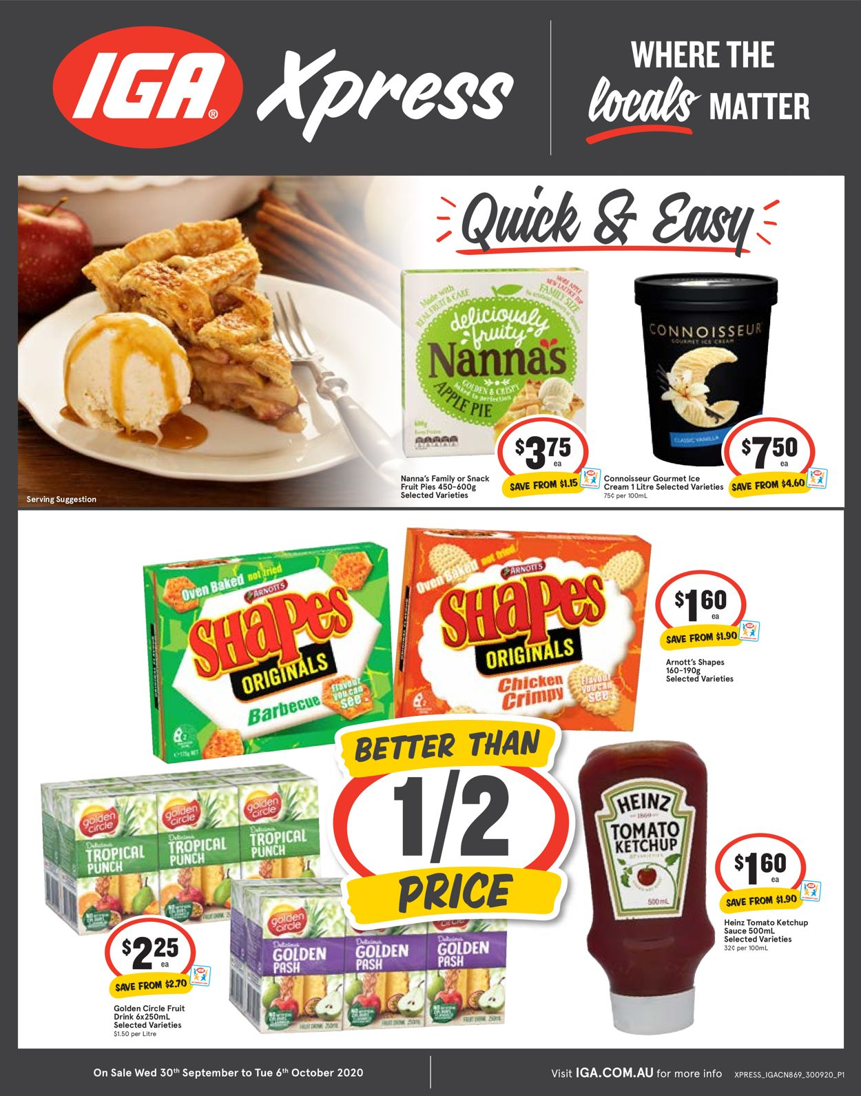 IGA Catalogue - 30/09-06/10/2020