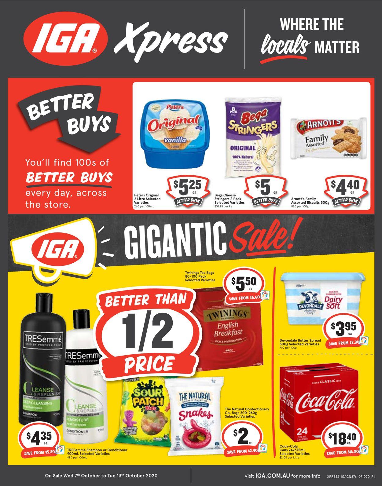 IGA Catalogue - 07/10-13/10/2020