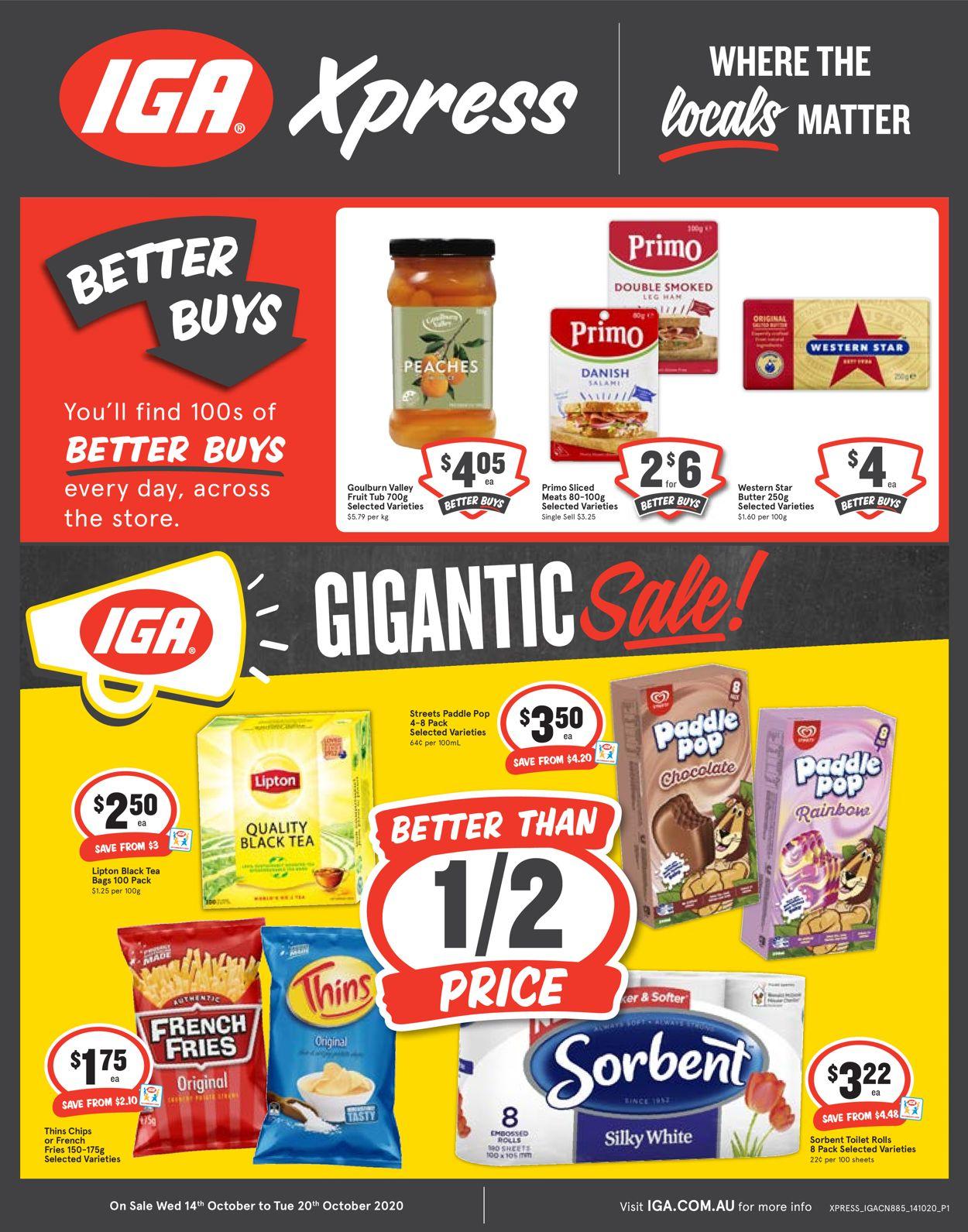 IGA Catalogue - 14/10-20/10/2020