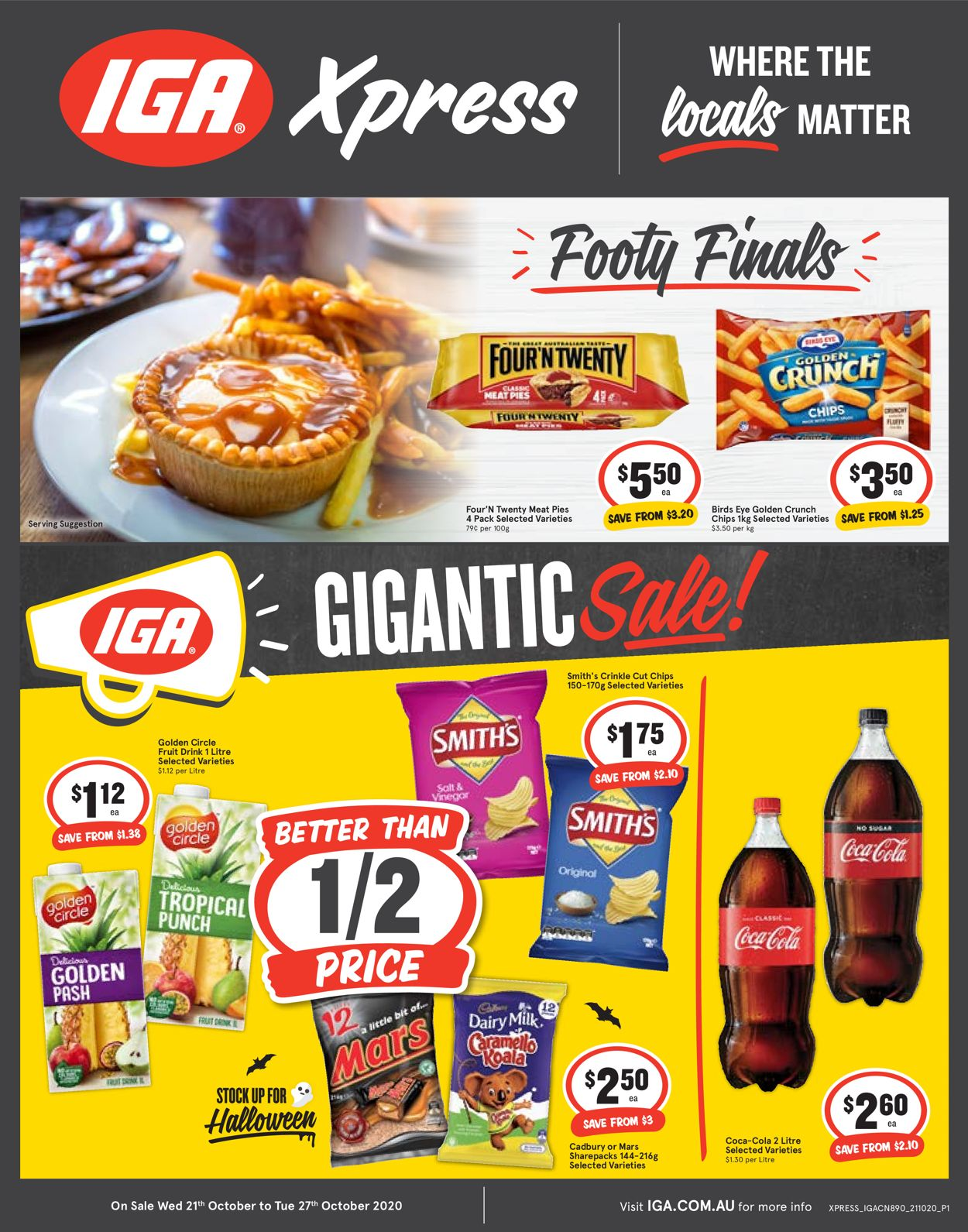IGA Catalogue - 21/10-27/10/2020