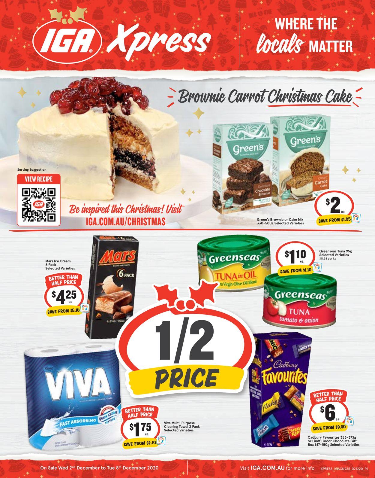 IGA - Christmas 2020 Catalogue - 02/12-08/12/2020