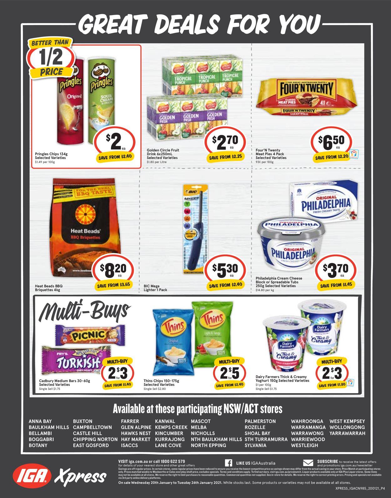 IGA Catalogue - 20/01-26/01/2021 (Page 4)