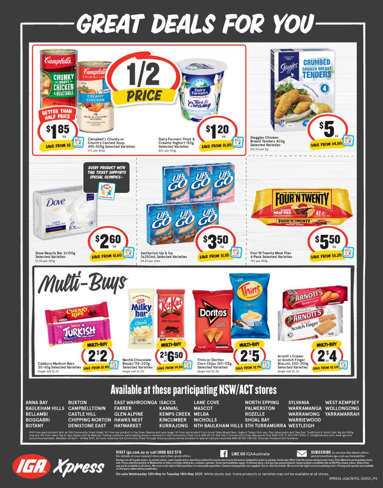 IGA Catalogue - 12/05-18/05/2021 (Page 4)