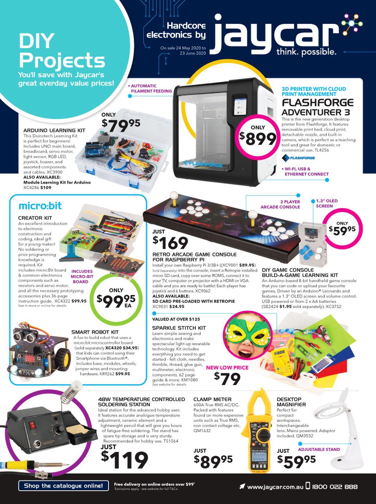Jaycar Electronics Catalogue - 24/05-23/06/2020