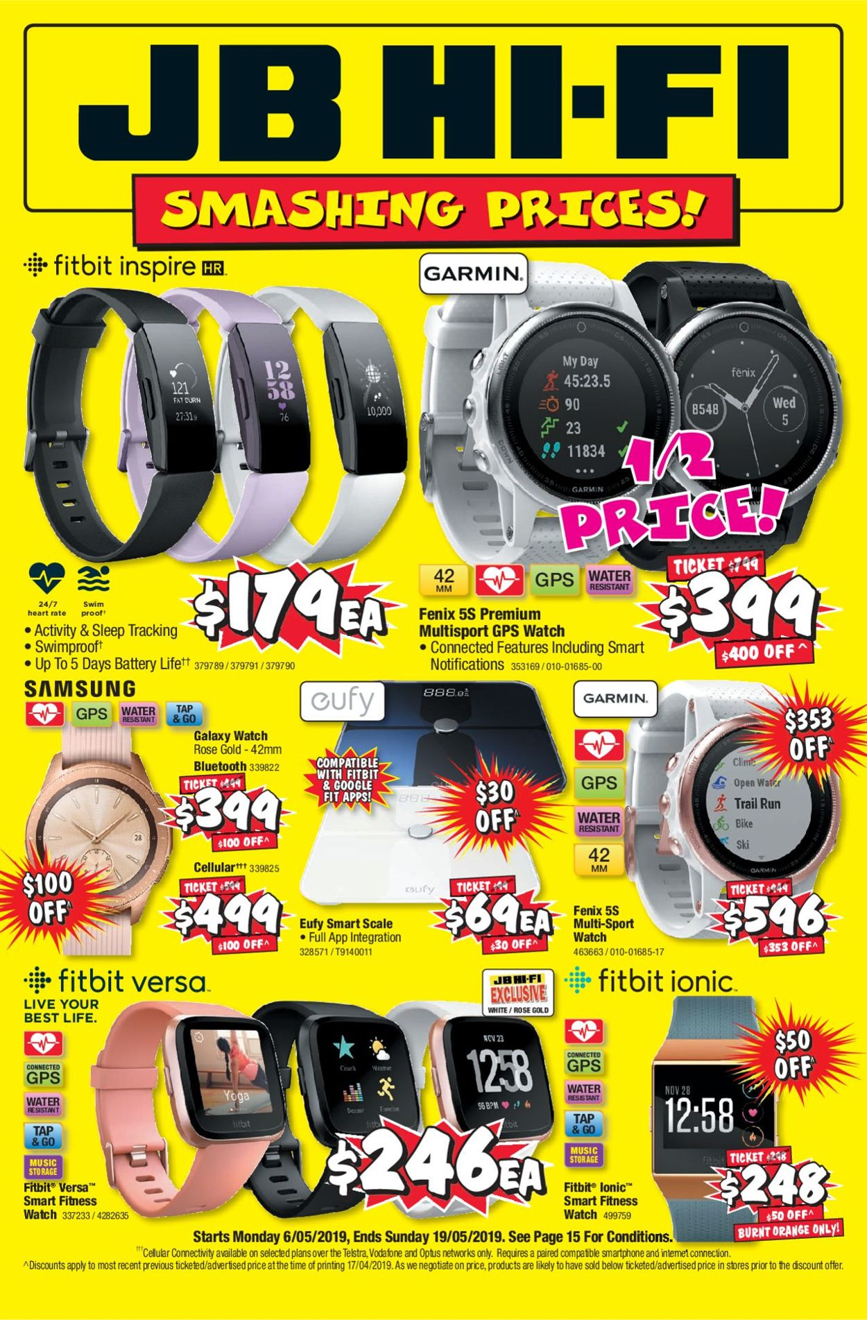 JB Hi-Fi Catalogue - 06/05-19/05/2019