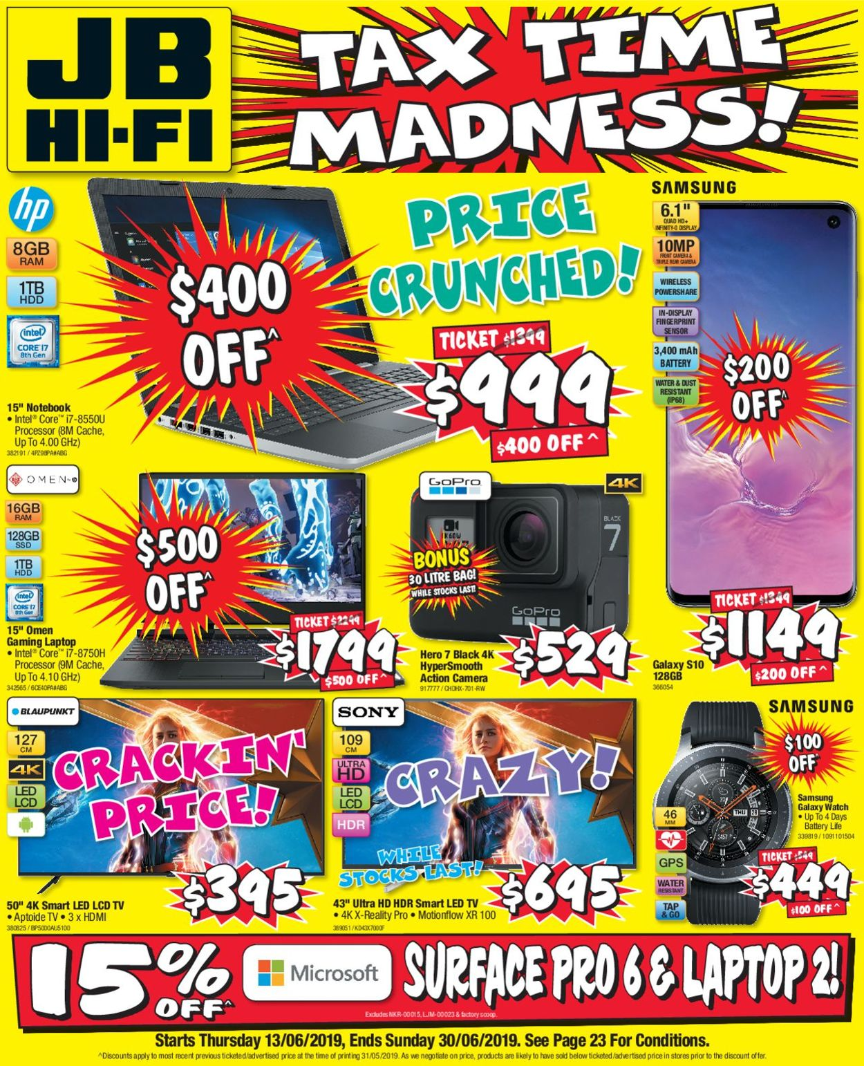 JB Hi-Fi Catalogue - 13/06-30/06/2019