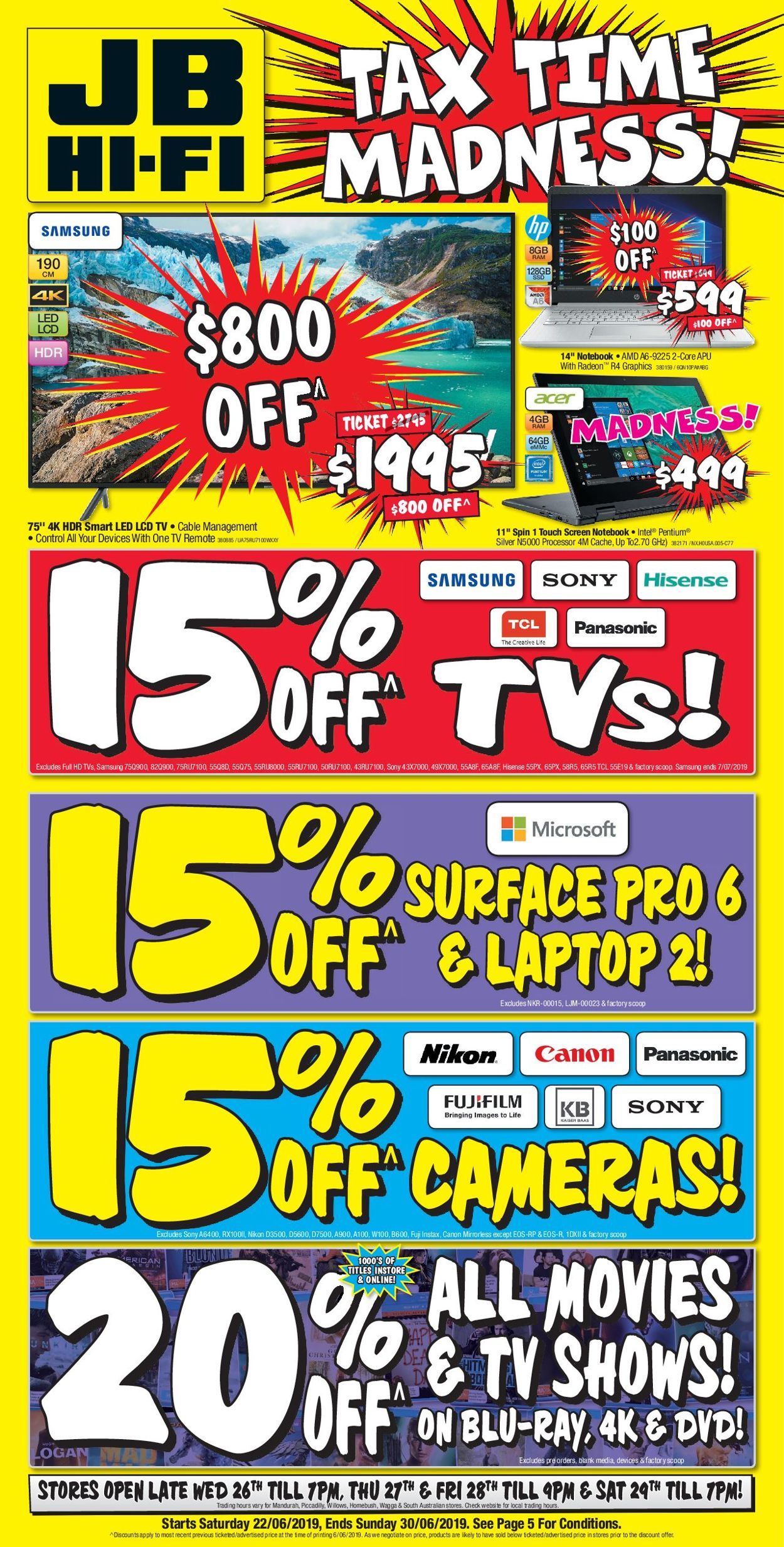 JB Hi-Fi Catalogue - 22/06-30/06/2019