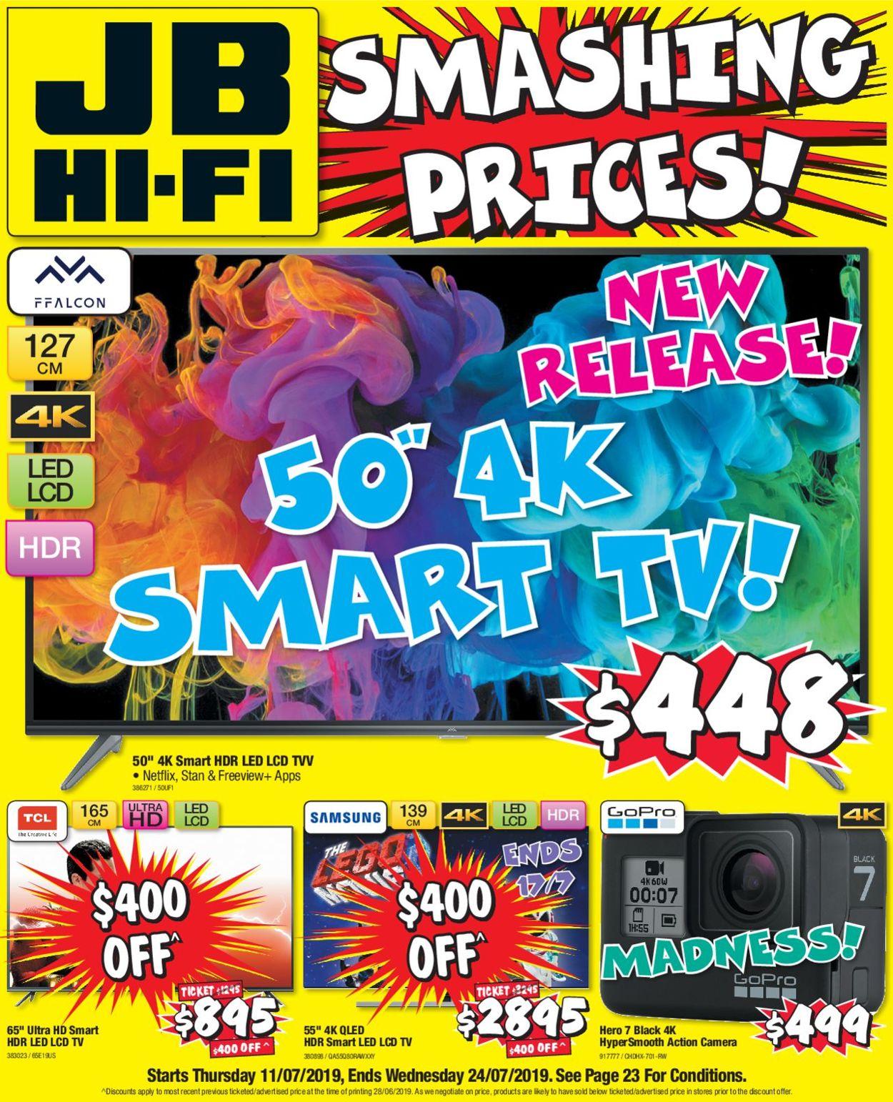 JB Hi-Fi Catalogue - 11/07-24/07/2019