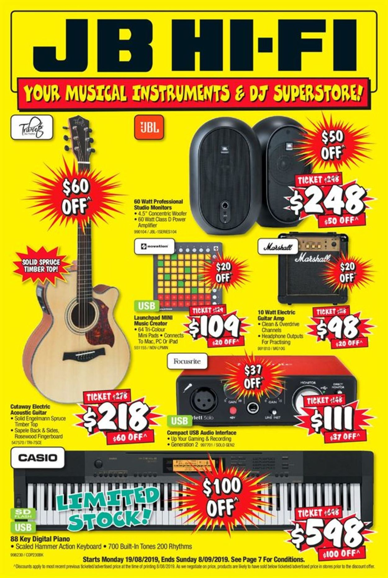 JB Hi-Fi Catalogue - 19/08-08/09/2019