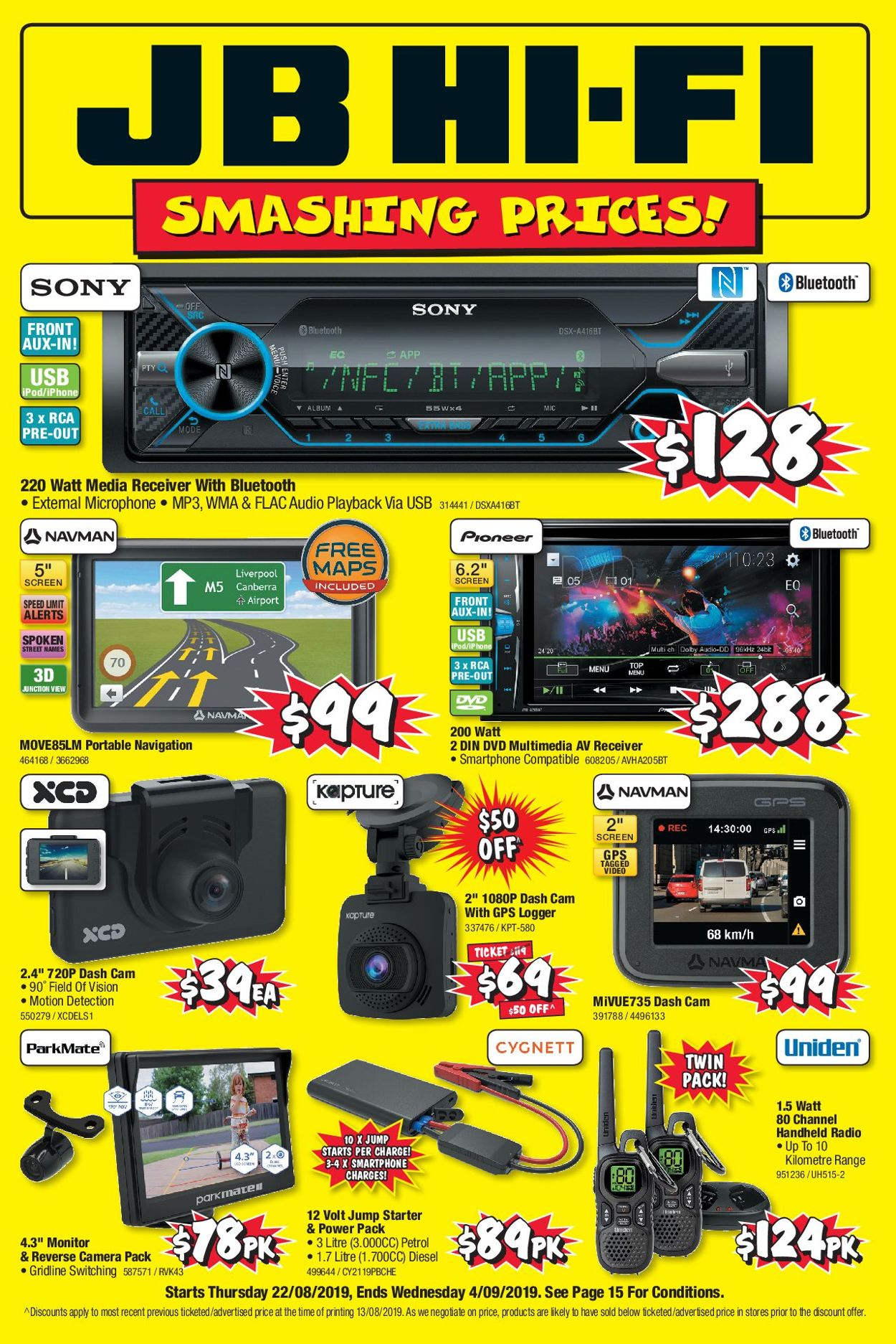 JB Hi-Fi Catalogue - 22/08-04/09/2019