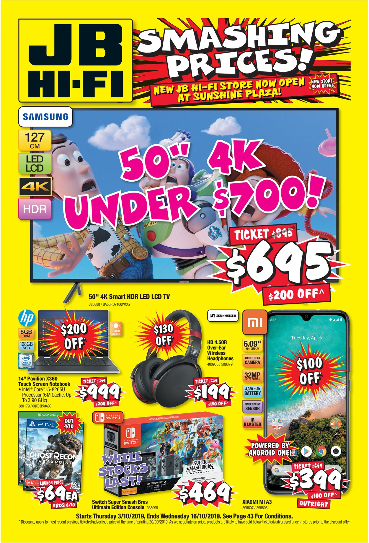 JB Hi-Fi Catalogue - 03/10-16/10/2019