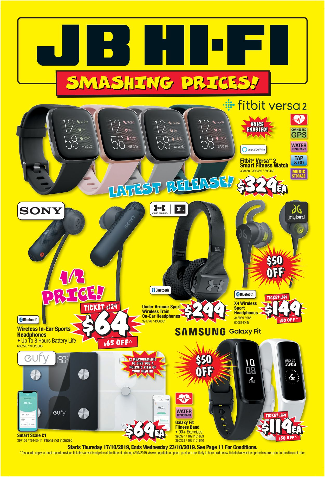 JB Hi-Fi Catalogue - 17/10-23/10/2019