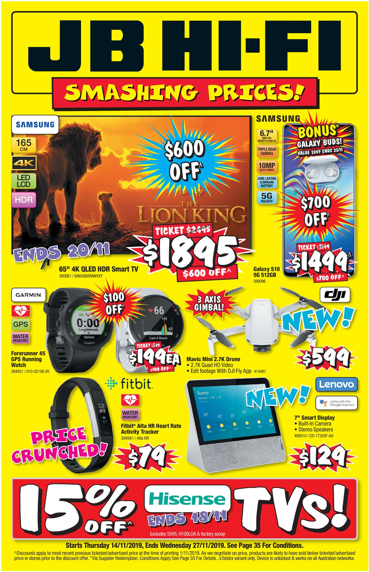 JB Hi-Fi Catalogue - 14/11-27/11/2019