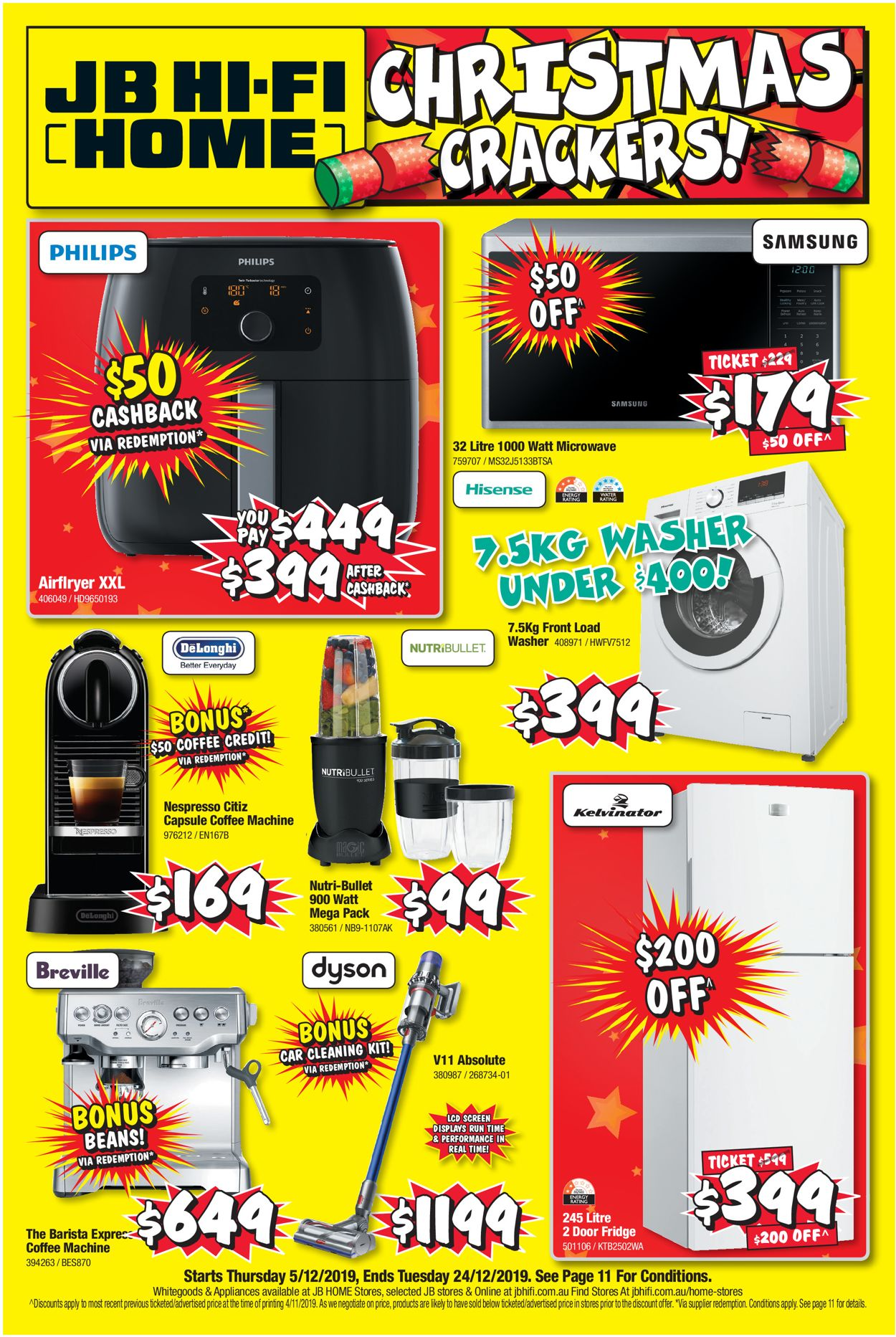 JB Hi-Fi Christmas Catalogue 2019 Catalogue - 05/12-24/12/2019