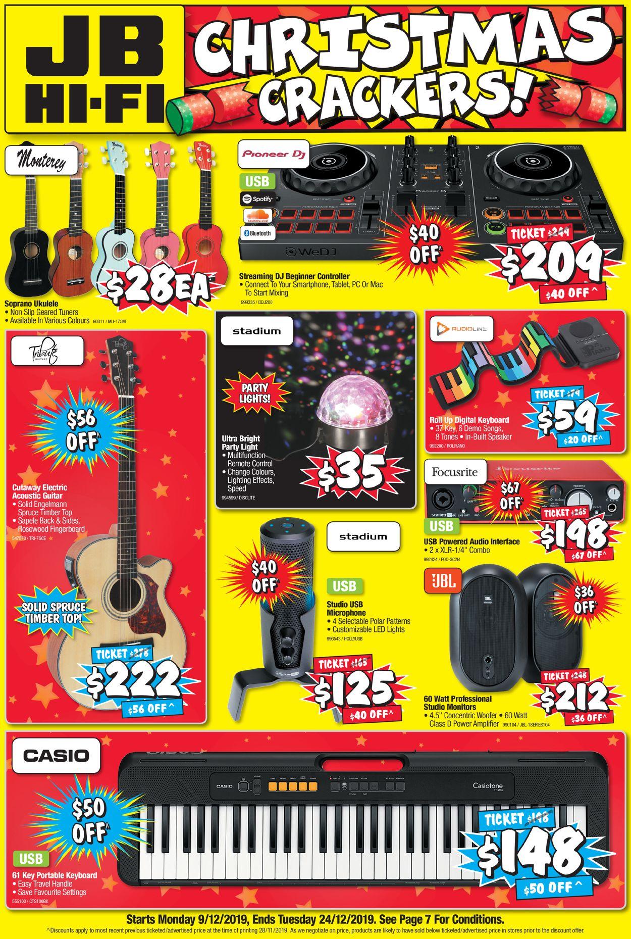 JB Hi-Fi Christmas Catalogue 2019 Catalogue - 09/12-24/12/2019