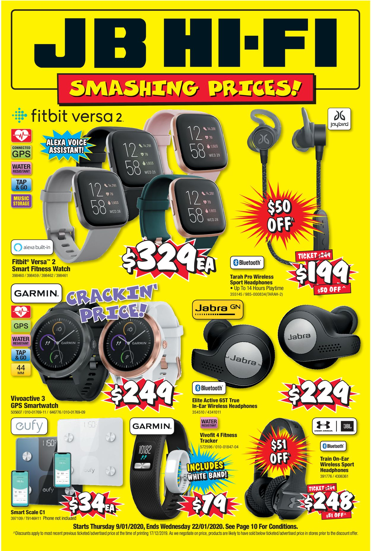 JB Hi-Fi Catalogue - 09/01-22/01/2020