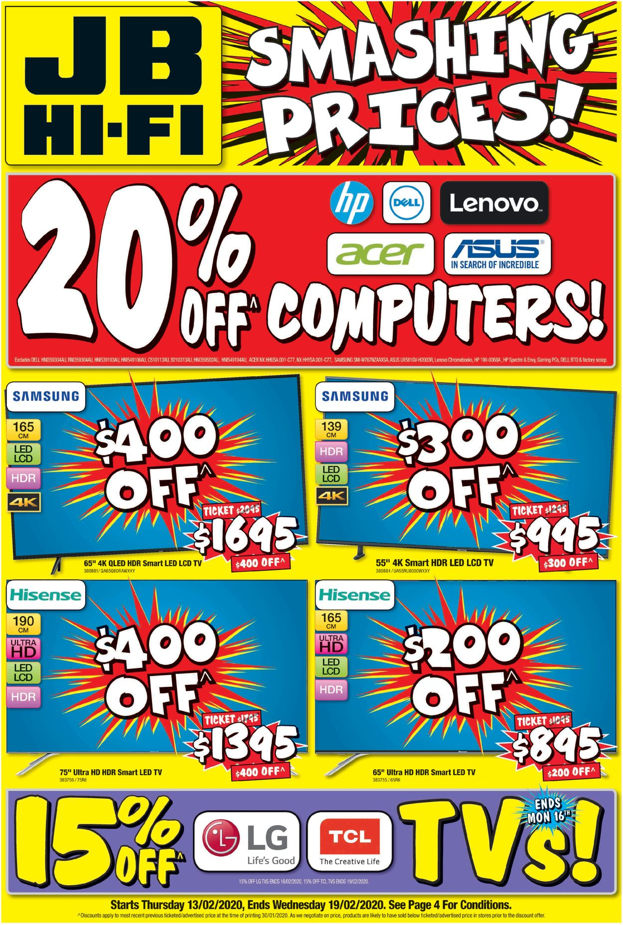 JB Hi-Fi Catalogue - 13/02-19/02/2020