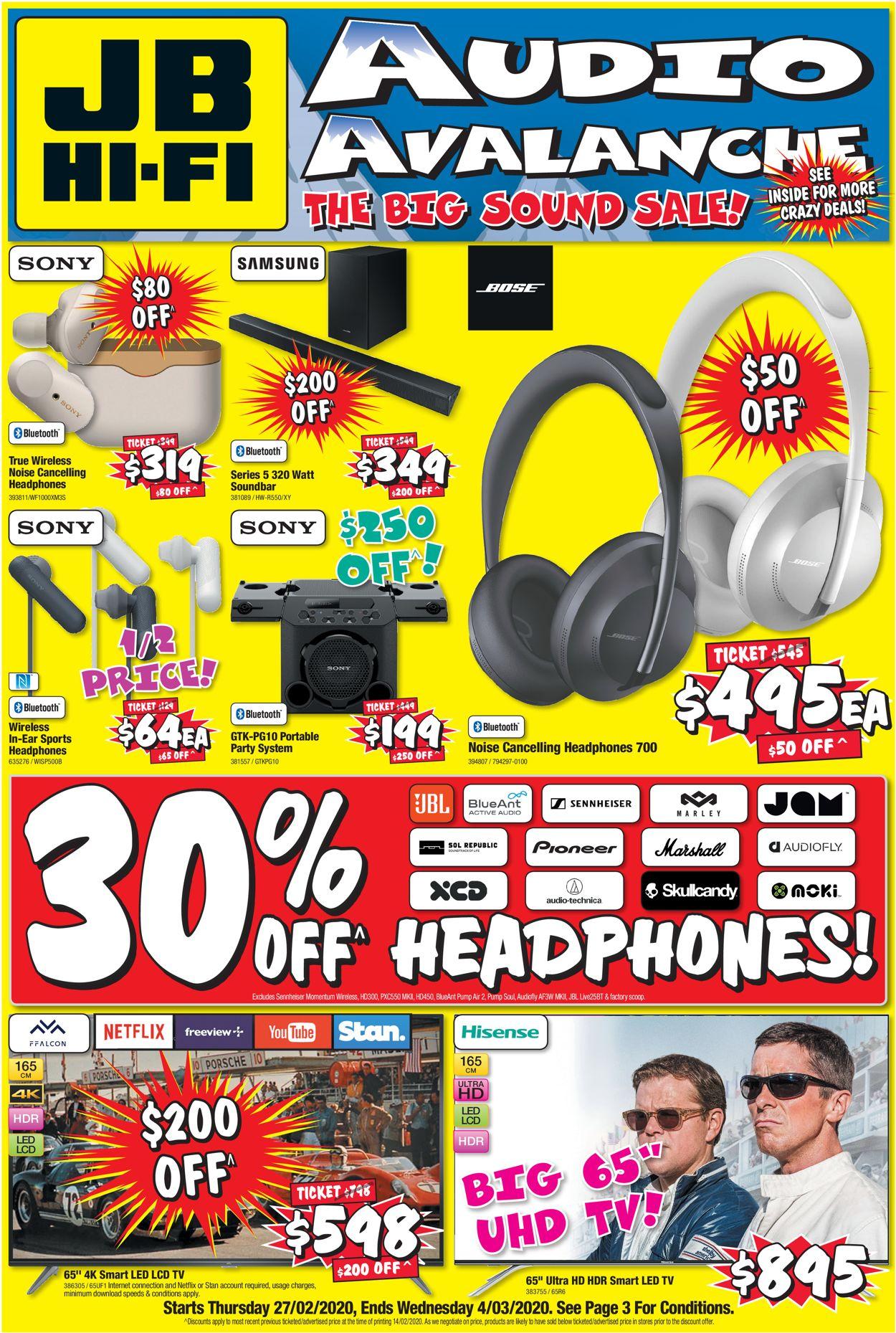 JB Hi-Fi Catalogue - 27/02-04/03/2020