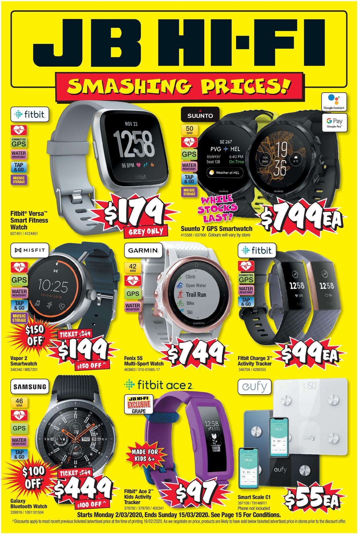 JB Hi-Fi Catalogue - 02/03-15/03/2020