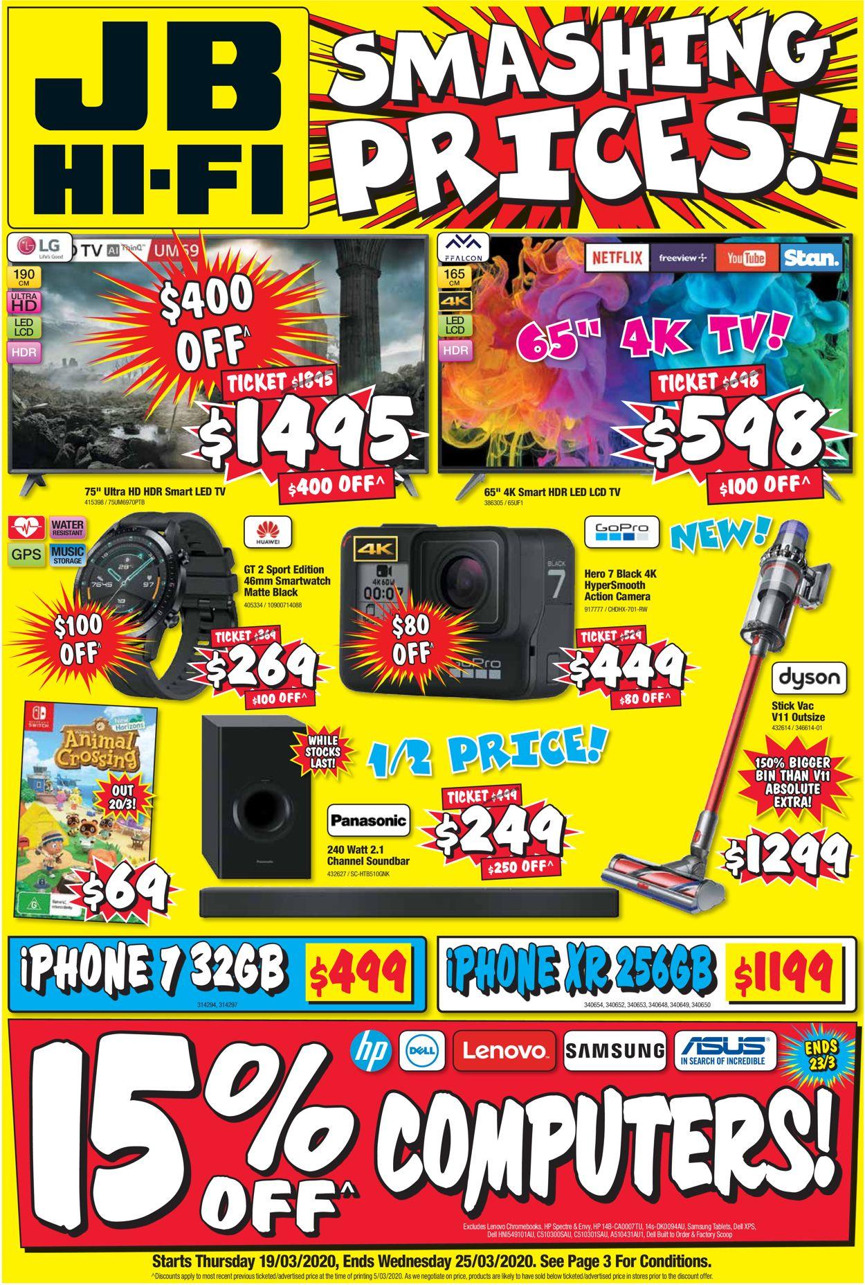 JB Hi-Fi Catalogue - 19/03-25/03/2020