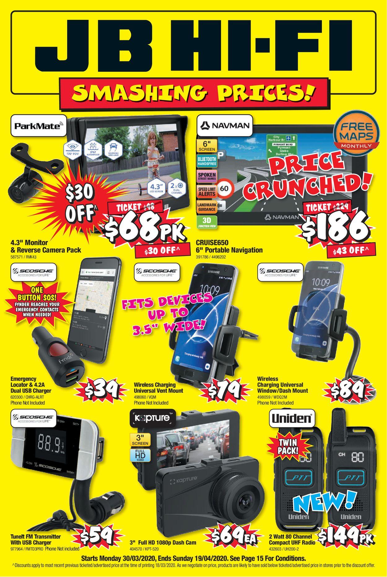 JB Hi-Fi Catalogue - 30/03-19/04/2020