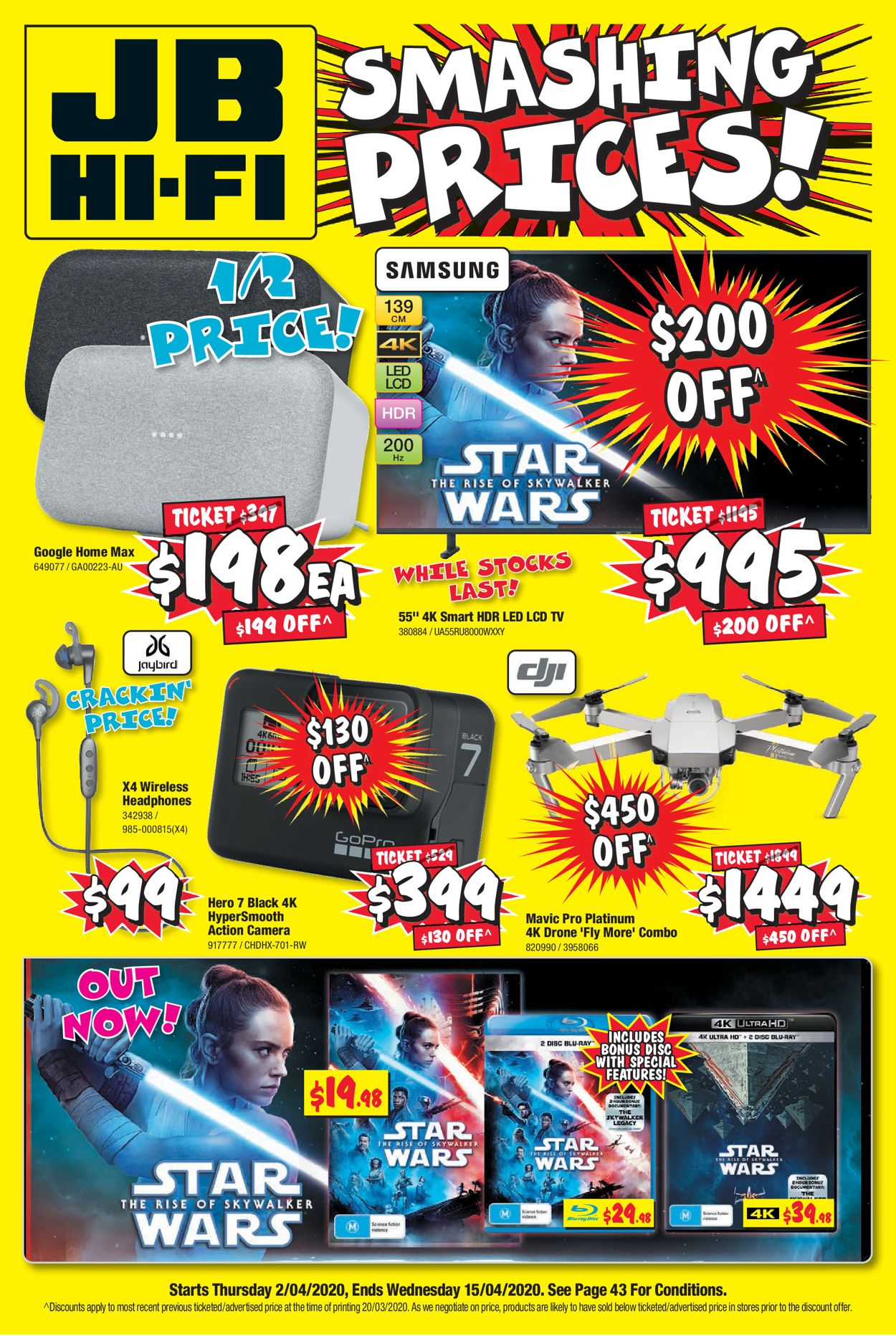 JB Hi-Fi Catalogue - 02/04-15/04/2020