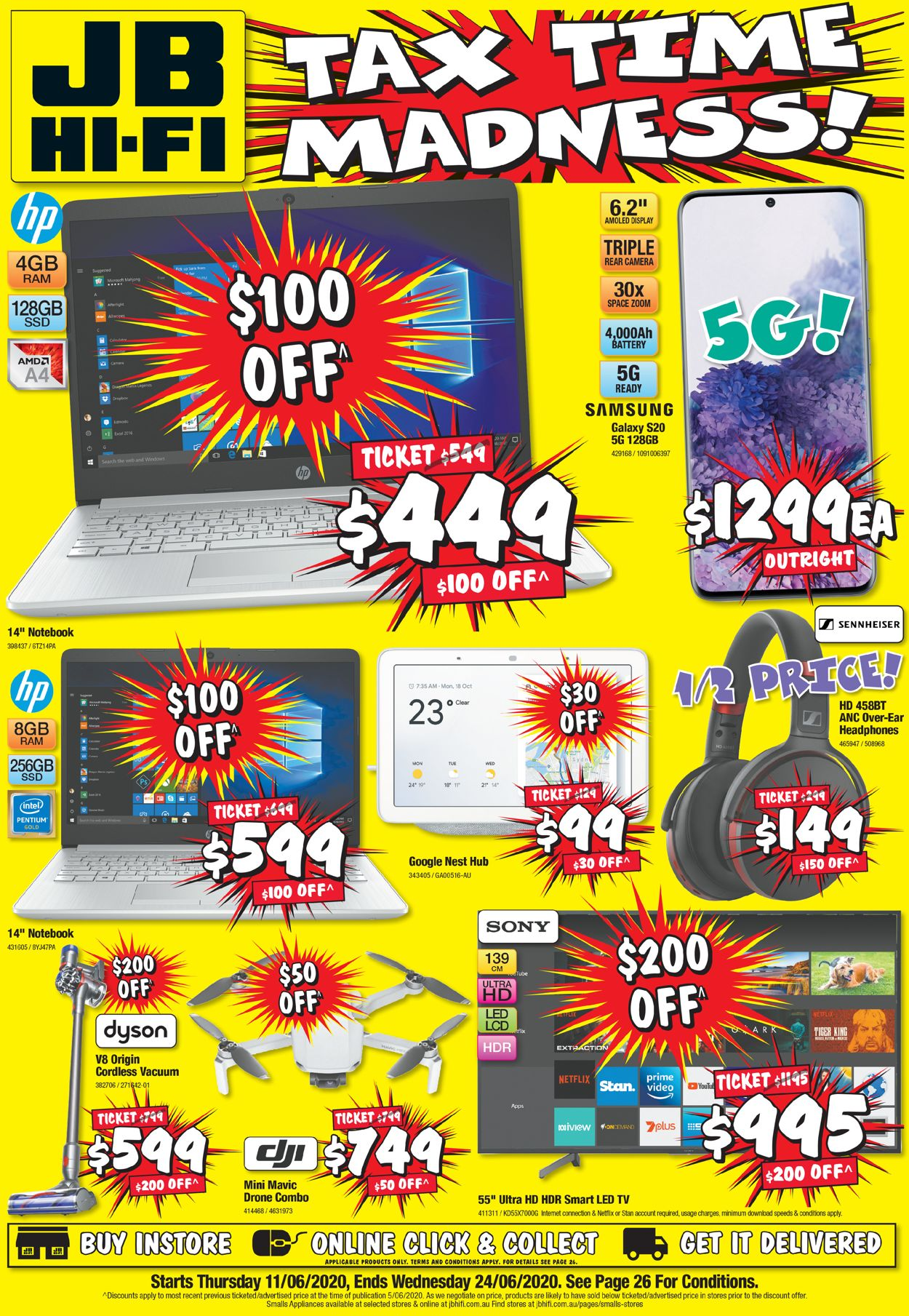 JB Hi-Fi Catalogue - 11/06-24/06/2020