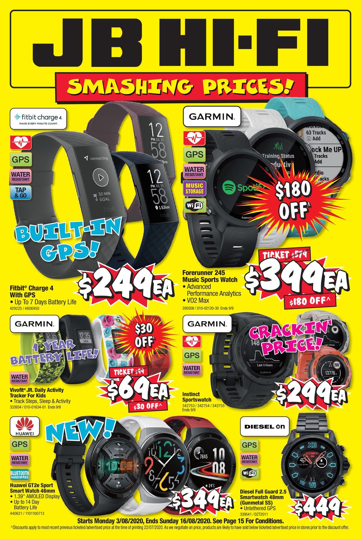 JB Hi-Fi Catalogue - 03/08-16/08/2020