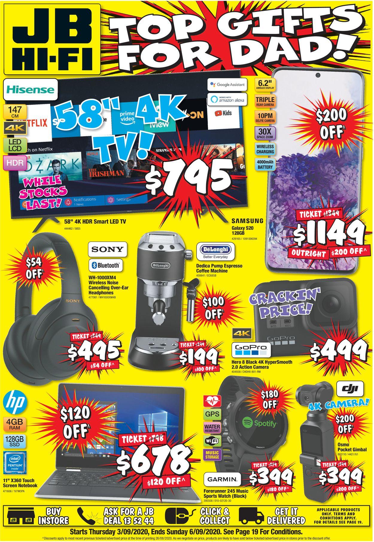 JB Hi-Fi Catalogue - 03/09-06/09/2020