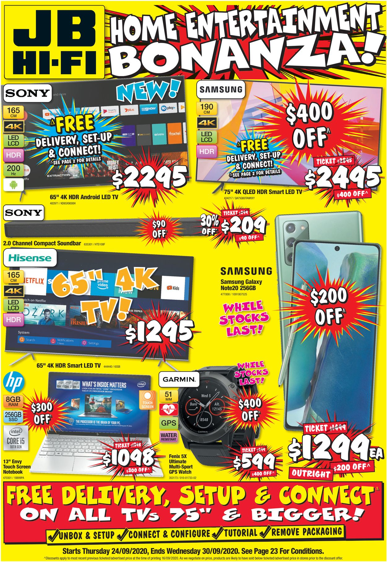 JB Hi-Fi Catalogue - 24/09-30/09/2020