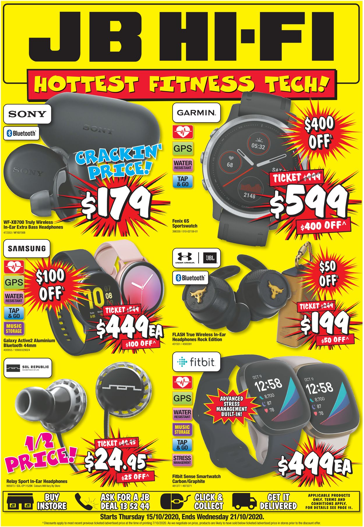 JB Hi-Fi Catalogue - 15/10-21/10/2020